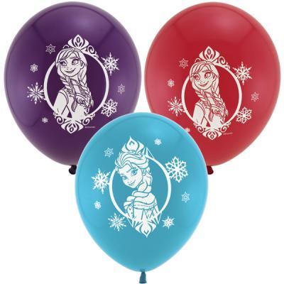 Disney Frozen Latex Balloons - 6 Pack