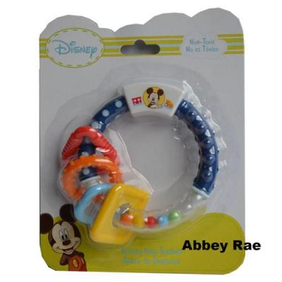 Disney Mickey Mouse Baby Ring Teether