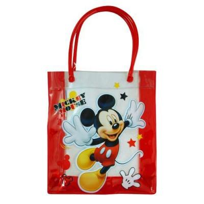 Disney Mickey Mouse PVC Bag Kids Carry Bag Gift Bag New Licensed
