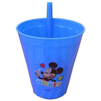Disney Mickey Mouse Sipper Cup New Cup with Straw Licensed BPA Free