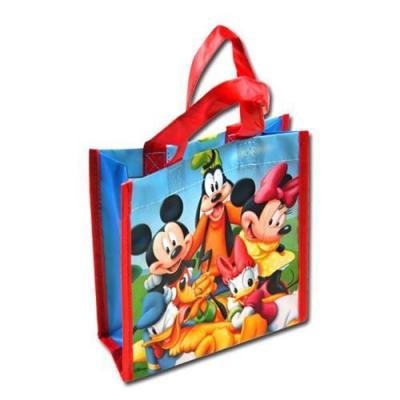 Disney Mickey Mouse Tote Bag Gift Bag 20cm high New Licensed