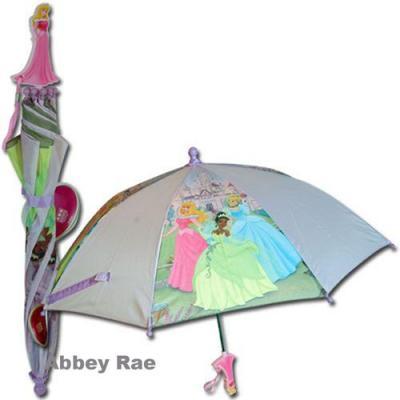 Disney Princess Umbrella Girls Umbrella Aurora Handle New Licensed