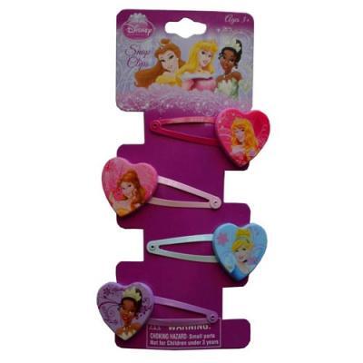 Disney Princess Hair Snap Clips