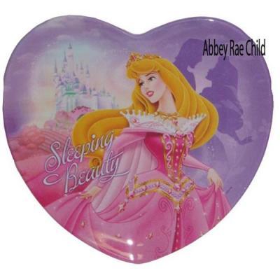 Disney Princess Plate Sleeping Beauty Aurora Melamine Dinner Plate New Licensed