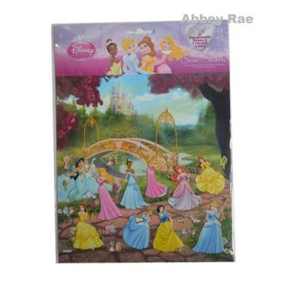 Disney Princess Sticker Scene Removable Stickers New Licensed