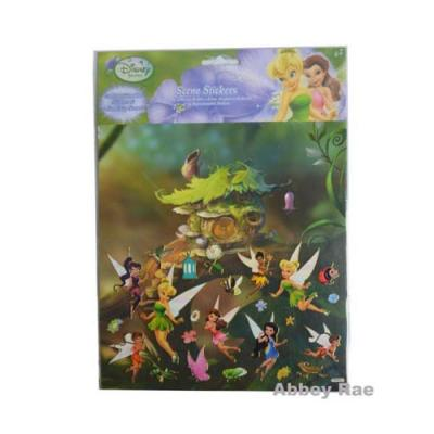 Disney Fairies Sticker Scene Tinkerbell Removable Stickers New Licensed