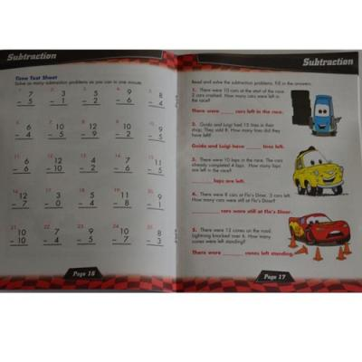 Disney Cars Maths Workbook