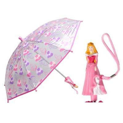Disney Princess Umbrella with 3D Sleeping Beauty Handle Girls Umbrella New Licensed