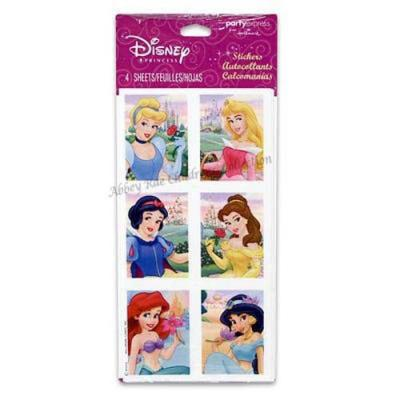 Disney Princess Stickers 24 Pack