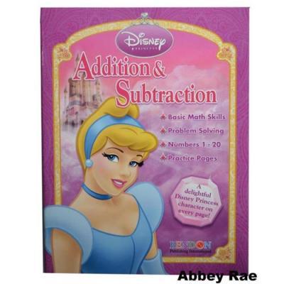 Disney Princess Workbook Addition & Subtraction
