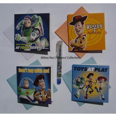 Disney Toy Story Gift Cards & Gel Pen