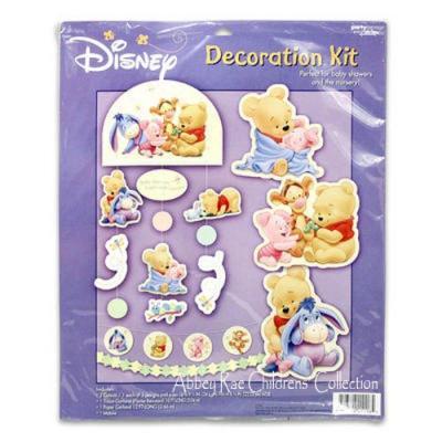 Disney Winnie the Pooh Decoration Kit