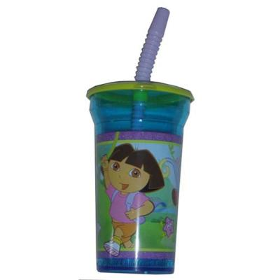 Dora the Explorer Cup with Straw Girls Large Cup New Licensed