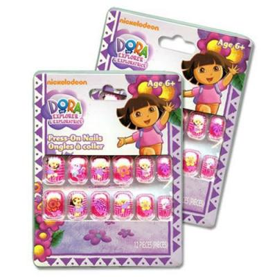 Dora the Explorer Press On Nails Girls Nails x 1 pack New Licensed