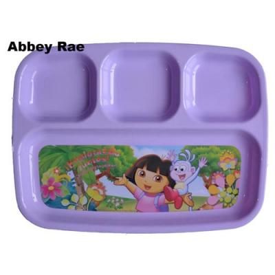 Dora the Explorer Sectioned Plate