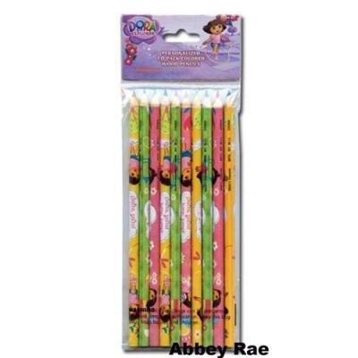 Dora the Explorer Colour Pencils 10 Pack Stationery New Licensed