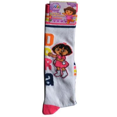 Dora the Explorer Girls Knee High Socks size 6-8