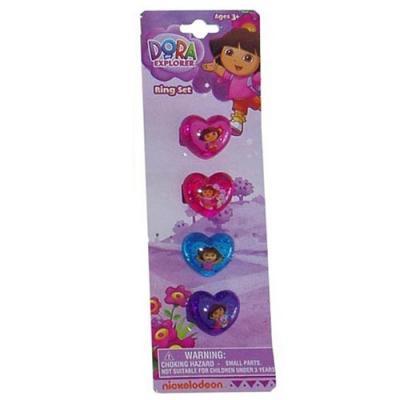 Dora the Explorer Rings Girls Jewellery New Cupcake Rings New Licensed