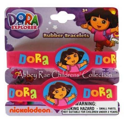 Dora the Explorer Wristband Dora Girls Rubber Bracelets New Licensed