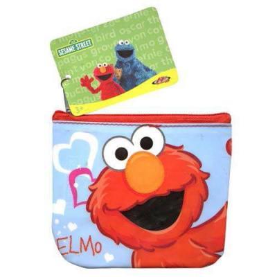 Sesame Street Elmo Coin Purse Bag New Licensed