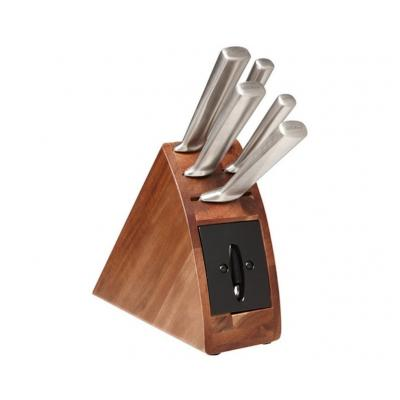 Wiltshire premium StaySharp 6pc radius knife block set w/ sharpener