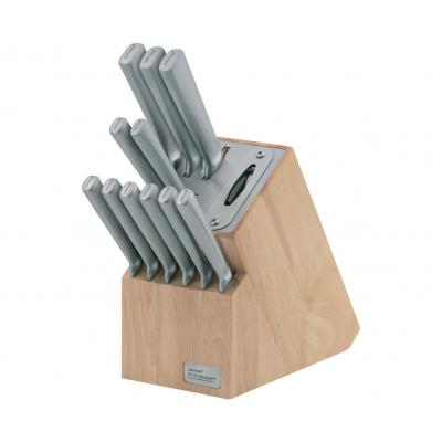 Wiltshire StaySharp Stainless Steel 12 pc Kitchen Knife Block set Built-in Sharpener