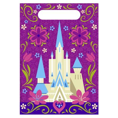 Disney Frozen Birthday Party Bags Loot Bags 8 Pack Ice Castle Design