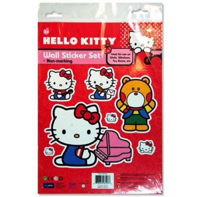 Hello Kitty Wall Stickers Removable Stickers New Licensed
