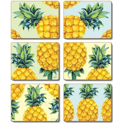 Cinnamon Pineapples Coasters