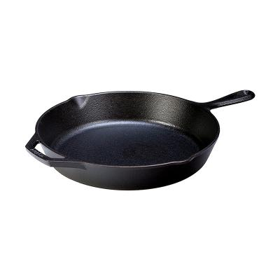 Lodge 12 Inch / 30.5cm Cast Iron Skillet with Helper Handle