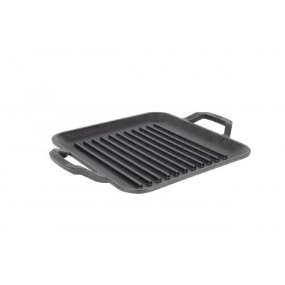 Lodge Chef Collection Cast Iron 11 Inch 28cm Chef Style Square Grill Pan