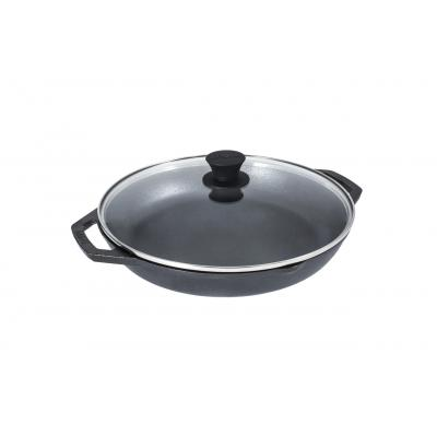 Lodge Chef Collection Cast Iron 12 Inch 30cm Everyday Chef Pan