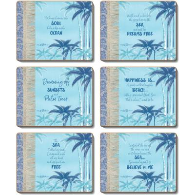 Cinnamon Palm Beach Coasters