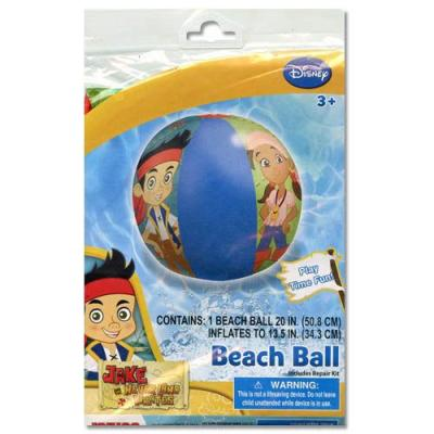 Jake and the Neverland Pirates Beach Ball Kids Inflatable Pool Toy Ball New Licensed