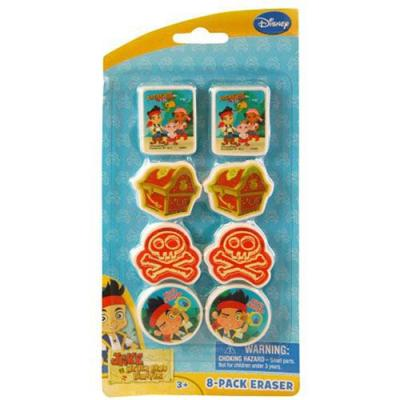 Jake and the Neverland Pirates Erasers
