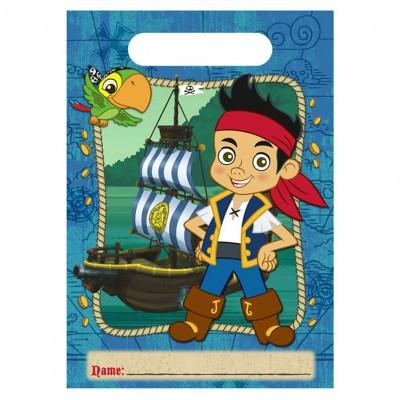 Jake and the Neverland Pirates Party Favour Loot Bags Lolly Bags