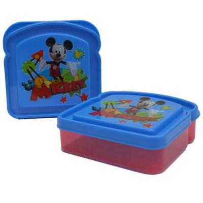Disney Mickey Mouse Sandwich Container Lunch Container New Licensed