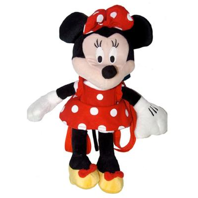Disney Minnie Mouse Mouse Plush Backpack New Licensed