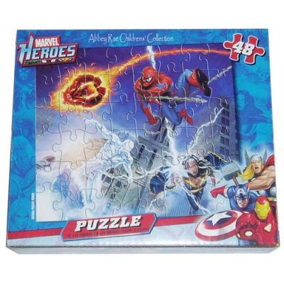 Marvel Heroes Jigsaw Puzzle 48 Piece Boys Puzzle New Licensed