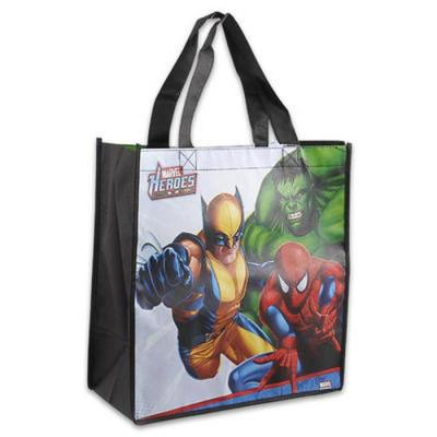 Marvel Heroes Tote Bag Swimming Bag Library Bag New Licensed