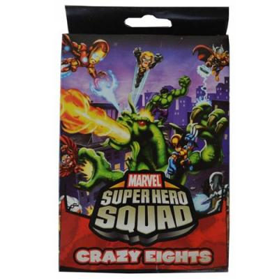 Marvel Super Hero Squad Card Game - Crazy Eights