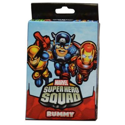 Marvel Super Hero Squad Card Game - Rummy