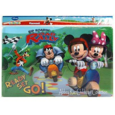 Disney Mickey Mouse Placemat New PBA Free Licensed