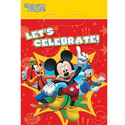 Disney Mickey Mouse Party Favour Loot Bags