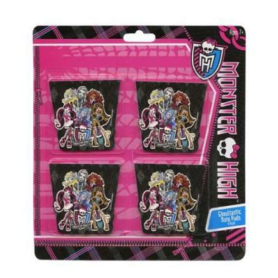 Monster High Notepads Stationery Party Favours 4 pack New Licensed