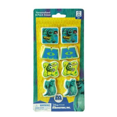 Monsters Inc. Erasers
