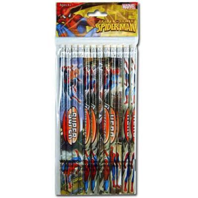 Spiderman Lead Pencils 12pack