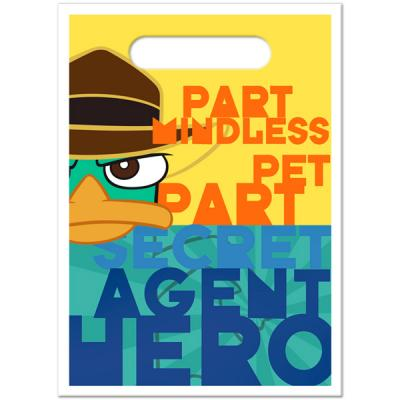 Phineas and Ferb Party Favour Bags Birthday Loot Lolly Bags
