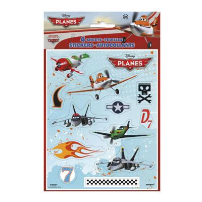 Disney Planes Stickers 4 Sticker Sheets Planes Birthday Party Favours