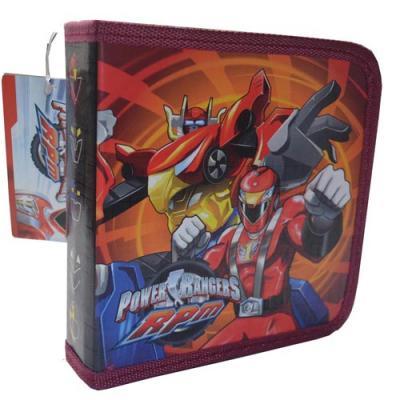 Power Rangers CD Case DVD Wallet Holder New Licensed